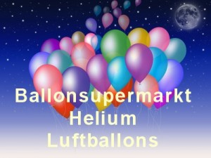 Helium Luftballons vom Ballonsupermarkt