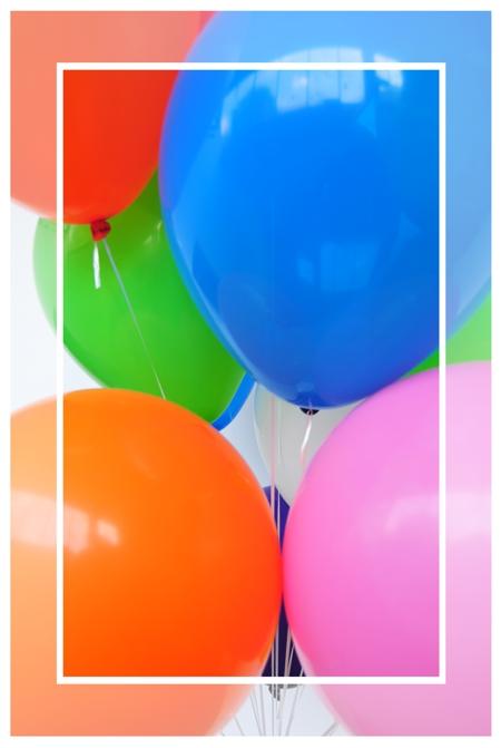 größere Luftballons